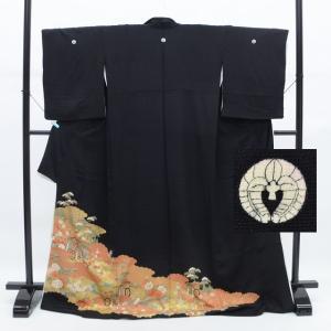リサイクル着物 黒留袖 中古 仕立て上がり ii0126a12|hitotoki