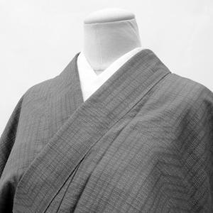 リサイクル着物 真綿紬 中古 正絹 ii3430a05|hitotoki
