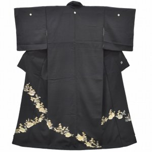 リサイクル着物 黒留袖 中古 仕立て上がり ii3568a10|hitotoki