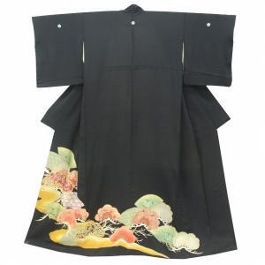 リサイクル着物 黒留袖 中古 仕立て上がり jj1101c|hitotoki