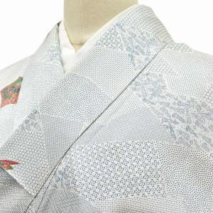リサイクル着物 小紋 中古 正絹 jj1189b|hitotoki