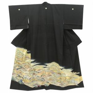 リサイクル着物 黒留袖 中古 仕立て上がり jj1314a05|hitotoki