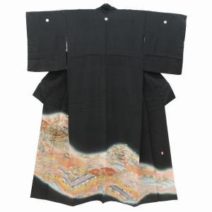 リサイクル着物 黒留袖 中古 仕立て上がり jj1661a05|hitotoki