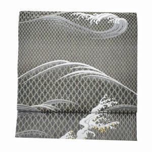 袋帯 リサイクル 帯 中古 リサイクル帯 正絹 結婚式 未使用品 仕立て上がり mm0654b|hitotoki