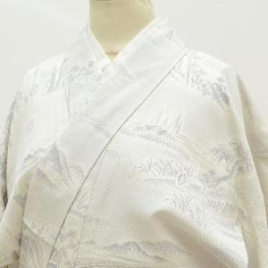 リサイクル 塩沢紬 正絹 仕立て上がり 裄63.5cm M 身丈155cm M 着物 リサイクル紬 ...