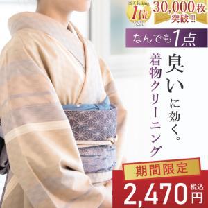 着物 クリーニング 丸洗い ひとときオリジナル オゾン京洗い sin1584 【S】