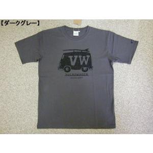 大きいサイズ Tシャツ 半袖Tシャツ VOLKSWAGEN フォルクスワーゲン メンズ BIG レトロ サーフ ロゴT 大人 夏 新作|hitstyle