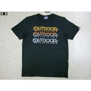 OUTDOOR Tシャツ アウトドア 半袖Tシャツ メンズ レディース アメカジ きれい 夏 ロゴT 新作|hitstyle