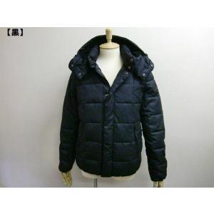 大きいサイズ ダウンジャケット 中綿ジャケット メンズ アウター アメカジ きれい BIG ベーシック フード 裏ボア 着脱 フラノ調 迷彩 カモフラ 無地 冬 新作|hitstyle