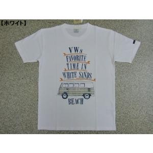 大きいサイズ Tシャツ メンズ 半袖Tシャツ BIG VOLKSWAGEN フォルクスワーゲン レトロ サーフ ビーチ ロゴT 綿100 車 バス 大人 ビンテージ キングサイズ 夏|hitstyle