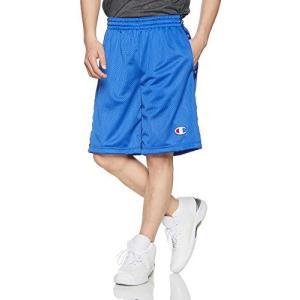 [チャンピオン] チャンプメッシュショーツ バスケットボール C3-PB541 ブルー 日本 XL (日本サイズXL相当)|hitte