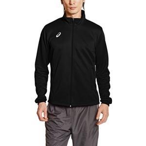 [アシックス] フィットネス ジャケット トレーニングジャケット XAT145 メンズ ブラック 日...
