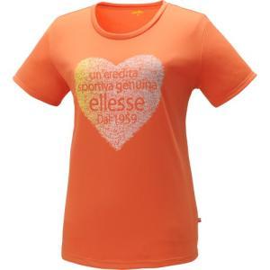 (エレッセ)ellesse Tシャツ EA14104 SU サンセット M|hitte