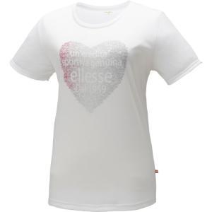 (エレッセ)ellesse Tシャツ EA14104 W ホワイト M|hitte