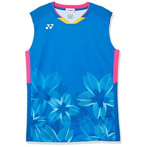 [ヨネックス] ノースリーブシャツ ゲームシャツ メンズ ファインブルー (599) 日本 O (日本サイズ2L相当)|hitte