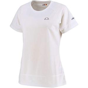 エレッセ ellesse テニスウェア レディス メッシュラグランゲームシャツ EW00121ZT W:ホワイト L|hitte