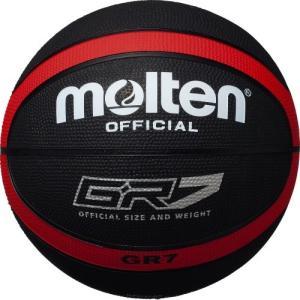 molten(モルテン) バスケットボール GR7 BGR7-KR ブラック×レッド 7号|hitte