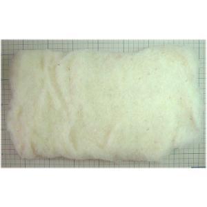 ◎ひつじクラブで、販売しているフェルト羊毛です。 ◎フェルト人形の下地作り・ぬいぐるみの中詰め用です...