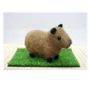 ◎羊毛フェルト人形、カピバラキット。|hituji2gou