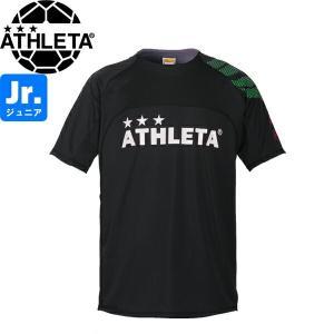 ATHLETA アスレタ ジュニア カラープラクティスシャツ プラシャツ 02312J-BLK サッカー フットサル|hiyamasp