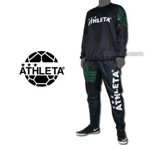 ATHLETA アスレタ ピステスーツ 02318-BLK サッカー フットサル|hiyamasp