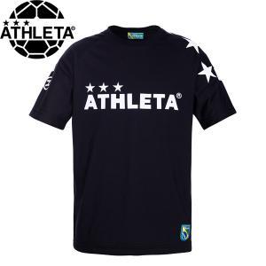 ATHLETA アスレタ ビッグロゴTシャツ 半袖Tシャツ 03351-BLK サッカー フットサル hiyamasp