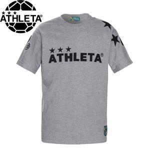 ATHLETA アスレタ ビッグロゴTシャツ 半袖Tシャツ 03351-GRY サッカー フットサル hiyamasp
