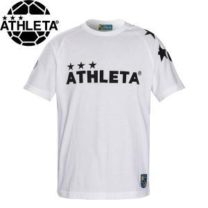 ATHLETA アスレタ ビッグロゴTシャツ 半袖Tシャツ 03351-WHT サッカー フットサル hiyamasp