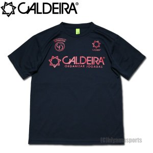 CALDEIRA キャルデラ プラシャツ プラクティスシャツ 10CR003-NVY フットサル サッカー hiyamasp