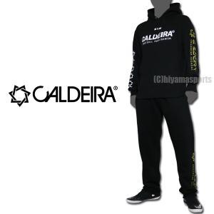 CALDEIRA キャルデラ スウェットセットアップ RAD スウェット上下 10CR035-BLK フットサル サッカー hiyamasp
