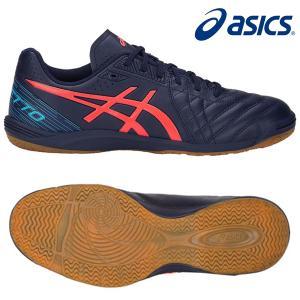 asics アシックス カルチェット WD8  サッカー フットサルシューズ インドア室内用 1113A011-405|hiyamasp