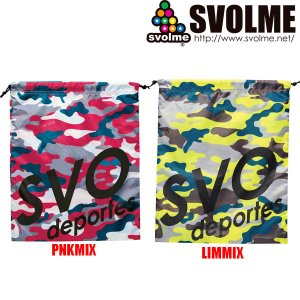 SVOLME スボルメ カモシューズ袋 1191-09729 サッカー フットサル|hiyamasp