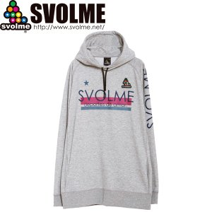 SVOLME スボルメ BIG裏毛POフーディー 1193-33601-GRY サッカー フットサル...