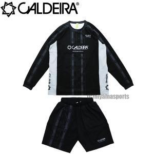 CALDEIRA キャルデラ ネイティブライン アクティブトップ&アクティブショーツ AMBIENT AIR 11CR314-BLK-11CR315-BLK フットサル サッカー|hiyamasp