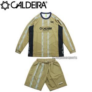 CALDEIRA キャルデラ ネイティブライン アクティブトップ&アクティブショーツ AMBIENT AIR 11CR314-KHK-11CR315-KHK フットサル サッカー hiyamasp