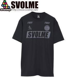 SVOLME スボルメ FOOTBALL Tシャツ 1211-84500-BLK サッカー フットサル|hiyamasp