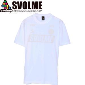 SVOLME スボルメ FOOTBALL Tシャツ 1211-84500-WHT サッカー フットサル|hiyamasp
