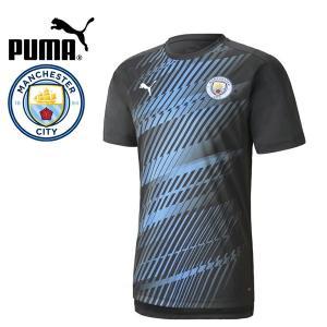 PUMA プーマ MCFC マンチェスターシティ 2020 スタジアムシャツ プラシャツ 756765-25 プーマジャパン国内正規ライセンス商品|hiyamasp