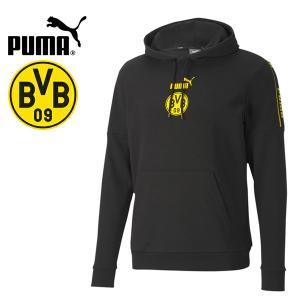 PUMA プーマ BVB ボルシア ドルトムント 2020-21 フットボールカルチャーフーディー スウェットパーカー 758109-02 プーマジャパン国内正規ライセンス商品|hiyamasp