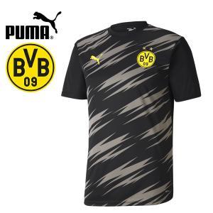 PUMA プーマ BVB ボルシア ドルトムント 2020-21 スタジアムシャツ プラシャツ 758135-02 プーマジャパン国内正規ライセンス商品|hiyamasp