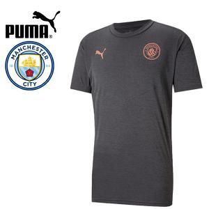 PUMA プーマ MCFC マンチェスターシティ 2020-21 ウォームアップTシャツ プラシャツ 758698-03 プーマジャパン国内正規ライセンス商品|hiyamasp