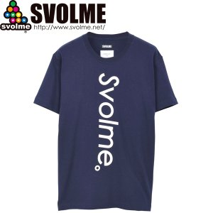 SVOLME スボルメ NT STAND LOGO Tシャツ 8211-18510-NVY サッカー フットサル|hiyamasp