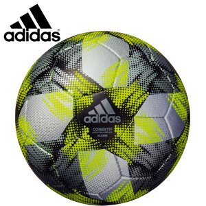 adidas アディダス サッカーボール4号球 コネクト19グライダー 小学生用 検定球 AF404SLBK|hiyamasp