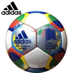 adidas アディダス サッカーボール4号球 UEFAネーションズリーグレプリカ 小学生用 検定球 AF4541NL|hiyamasp