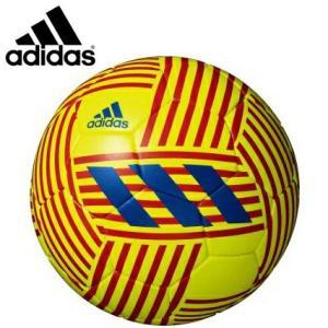 adidas アディダス サッカーボール4号球 ネメシスグライダー 小学生用 検定球 AF4654YB|hiyamasp