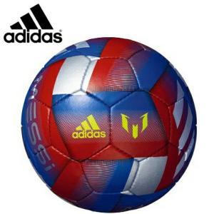 adidas アディダス サッカーボール4号球 メッシ 小学生用 検定球 AF4656ME|hiyamasp