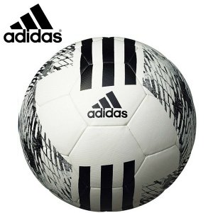 adidas アディダス サッカーボール4号球 ジュニアハイブリッド 小学生用 検定球 AF4854W|hiyamasp