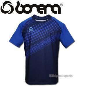 BONERA【ボネーラ】斜めドット プラクティスシャツ プラシャツ BNR-PS044T-NVY サッカー フットサル hiyamasp