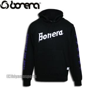 BONERA ボネーラ スウェットパーカー BNR-SW032T-BLK サッカー フットサル hiyamasp