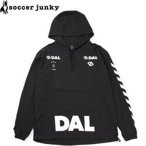 soccer junky サッカージャンキー アノラックピステパーカー CP19543-BLK サッカー フットサル|hiyamasp